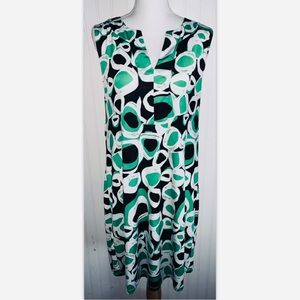 Everly Grey Sz Large Dress Maternity Green Black